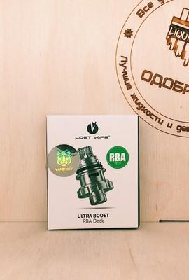Обслуживаемая база Lost Vape Ultra boost RBA