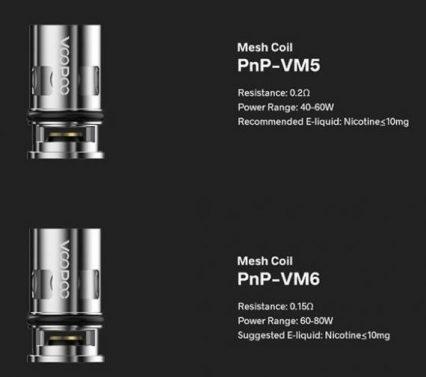 Испаритель Voopoo PnP-VM5 0.2ohm