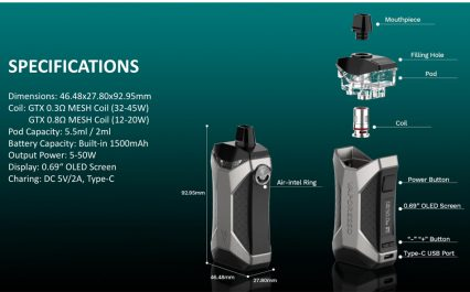 POD-система Vaporesso XIRON Pod kit