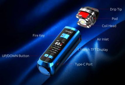 POD-система SMOK RPM 2 2000mAh Pod-Mod Kit