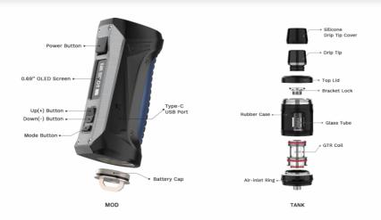 Парогенератор Vaporesso FORZ TX80 Kit