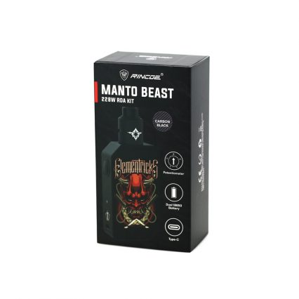 Парогенератор Rincoe Manto Beast 228W RDA kit