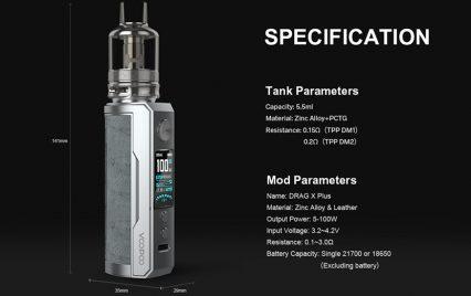 Парогенератор Voopoo Drag X Plus Kit