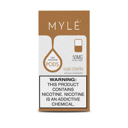 Сменный Картридж для MYLE V.4 ( Ледяной Кофе ) крепость 50 мг.