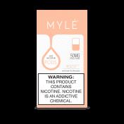 Сменный Картридж для MYLE V.4 ( Персик ) крепость 50 мг.