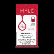 Сменный Картридж для MYLE V.4 ( Красное Яблоко ) крепость 50 мг.