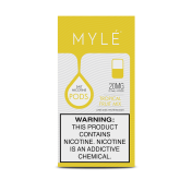 Сменный Картридж для MYLE V.4 ( Микс Тропических Фруктов ) крепость 50 мг.