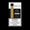 POD-система MYLE V.4 ( 4 картриджа Пустых Перезаправляемых ) ( Люкс Золото )