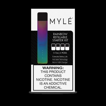 POD-система MYLE 4 картриджа пустых перезаправляемых