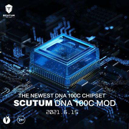 Бокс-мод Lost Vape Hyperion (Scutum) DNA 100C mod
