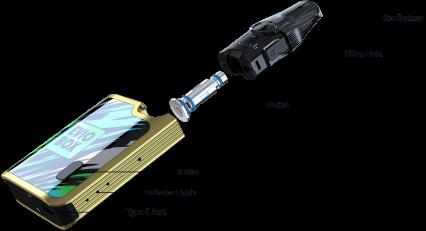 Pod-система Joyetech EVIO Box POD kit