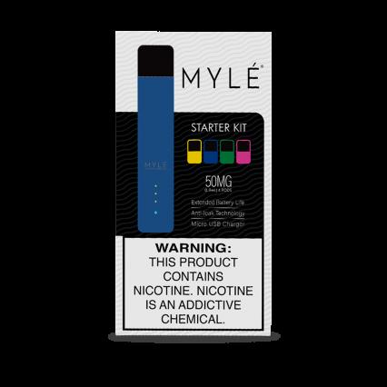 POD-система MYLE V.4 ( 4 картриджа ) ( Синий )