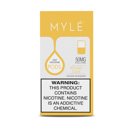 Сменный Картридж для MYLE V.4 ( Бисквитный торт ) крепость 50 мг