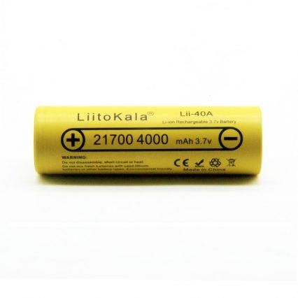 Аккумулятор LiitoKala 21700 Lii-40A 4000mAh
