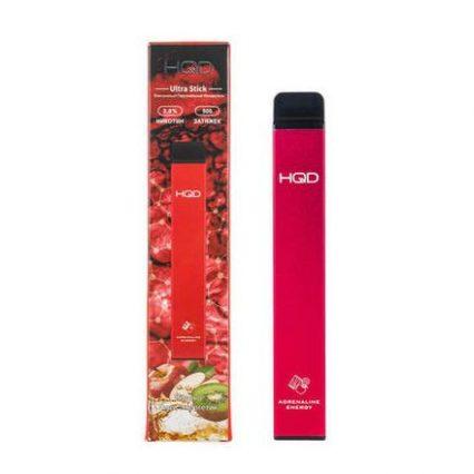 Одноразка HQD Ultra Stick Яблоко Киви Энергетик 500 затяжек