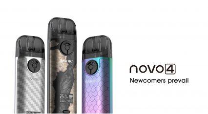 POD-система SMOK NOVO 4 ( Black Armor )