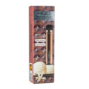 Одноразка HQD King Vanilla Ice Cream / Ванильное мороженое 2000 затяжек