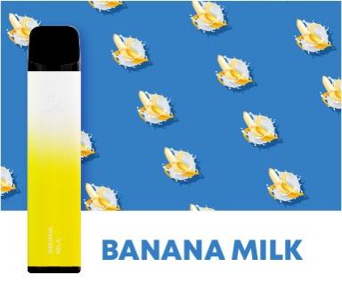 Одноразка Elf Bar Банан с молоком 2500 затяжек